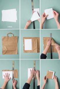diy notebook stap 2