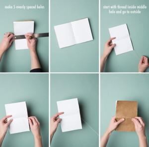 diy notebook stap 3