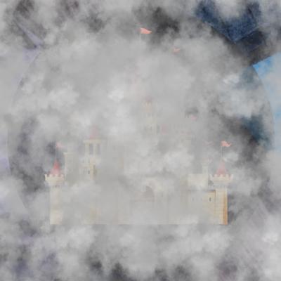Mist weg kasteel (1)